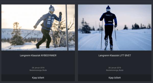 Vinteren har kommet til Bodø - og vi arrangerer skiteknikk-kurs for alle nivåer. Meld deg på her eller ta kontakt med linn@optimumhels.no