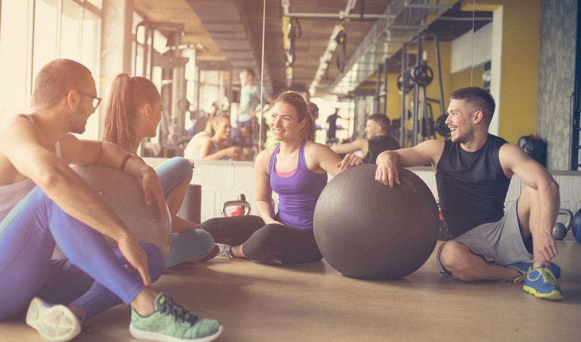 Gruppetrening med fukus på vekt og livsstil
